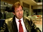 GIR Dr Ron Berhens interview SOT serious problem haven't much experience of it/ don't know where it's going and how big it's going to become i/c with...