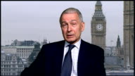 GIR Frank Field MP 2WAY interview from Westminster SOT