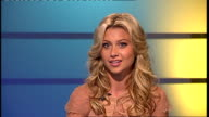 London GIR INT Aly Michalka interview SOT