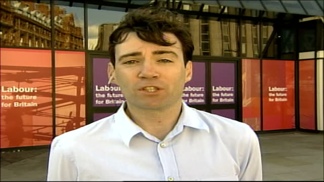 London GIR INT Andy Burnham MP 2WAY interview from Manchester SOT I was working on my policy proposal separately so it is a coincidence [that he and...