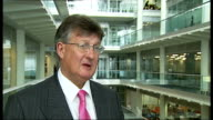London GIR INT David Frost interview SOT expect rise in job losses / consumers are reigning in their expenditure rise in house prices rise in...