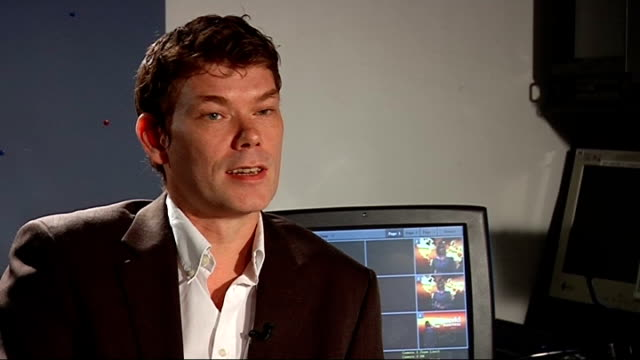 London GIR INT Gary McKinnon interview SOT On low levels of security on government computers / Left messages on computers 'hactivism' announcing...