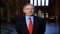 London GIR INT Geoff Hoon MP 2WAY interview SOT [Asked whether Bulgarians are more likely to go to France and Spain rather than the UK] I rather...