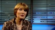 London GIR INT Harriet Harman MP interview SOT