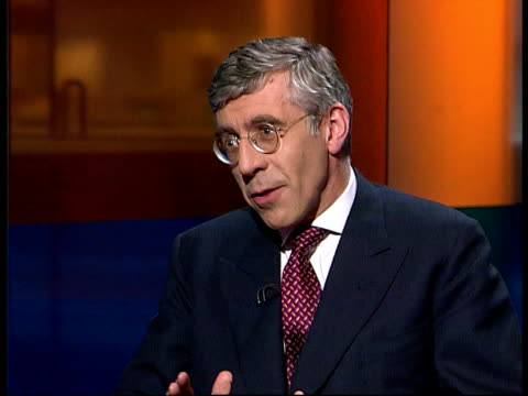London GIR INT Jack Straw MP interview SOT Defends plans to limit access to jury trials