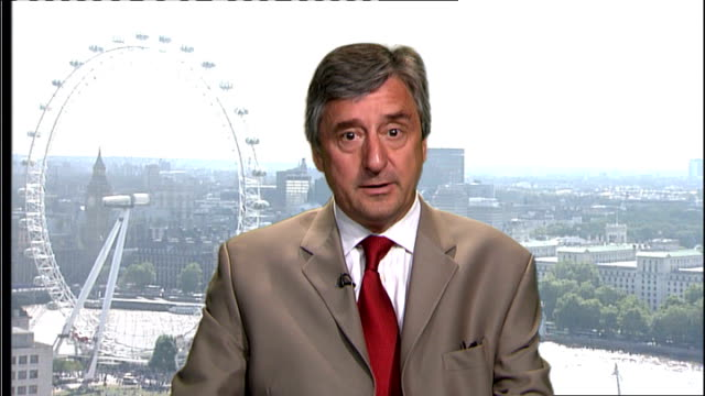 London GIR INT Jim Fitzpatrick MP 2WAY interview SOT