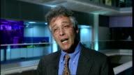 GIR INT Professor Irving Kirsch interview SOT