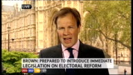 1330 1430 London GIR INT STUDIO Stewart recap on Brown statement Westminster EXT Tom Bradby LIVE from Houses of Parliament STUDIO Stewart discusses...