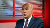 GIR INT Vince Cable MP interview SOT