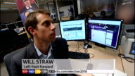 SPECIAL 0300 0400 London GIR Will Straw NEWSROOM interview about his father's win in Blackburn and increased majority SOT STUDIO Stewart STORY OF THE...