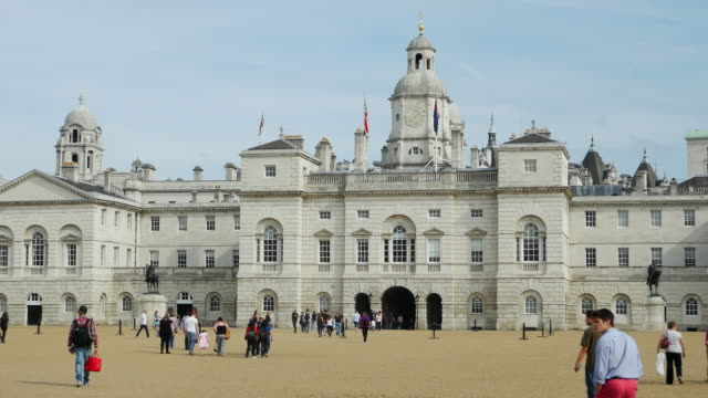 London Horse Guards Parade And Horse Guards Building.