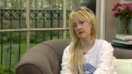 London INT Andrea Riseborough interview SOT