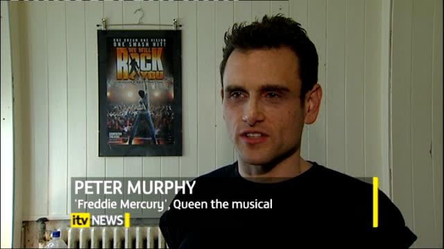 London INT Peter Murphy interview SOT