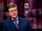 London Professor Anthony Aust interview SOT Important thing that Saddam has a fair trial is seen to have a fair trial so Iraq may not be the best...