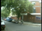 London N Kensington 178 Lancaster Rd Lighthouse Hospice MS Treelined street PAN LR London Lighthouse Project centre