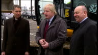 London Mayor opens gasification plant Boris Johnson speaking to press SOT this is most important development in field of rubbish in last decade...