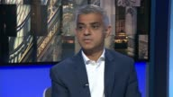 London Mayor Sadiq Khan says he has no confidence in new leader of Kensington and Chelsea council Sadiq Khan interview SOT She should never have...
