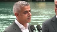 WGN London Mayor Sadiq Khan Talks About Cities Learning From Each Other during his tour of Chicago on September 16 2016