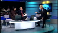 Boris Johnson launches campaign ENGLAND London GIR INT Boris Johnson MP LIVE STUDIO interview SOT On measures that he would take if he was elected...