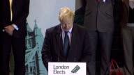 Boris Johnson victory speech Boris Johnson speech SOT Thank you very much Mr Mayer Anthony Mayer that is I want to thank you I want to thank the...