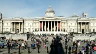London National Gallery On Trafalgar Square (4K/UHD to HD)