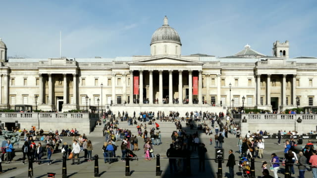 London National Gallery On Trafalgar Square (4K/UHD to HD)