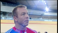 Velodrome opens interview Sir Chris Hoy ENGLAND London INT Sir Chris Hoy interview SOT very special not hard to visualise what it will be like at...
