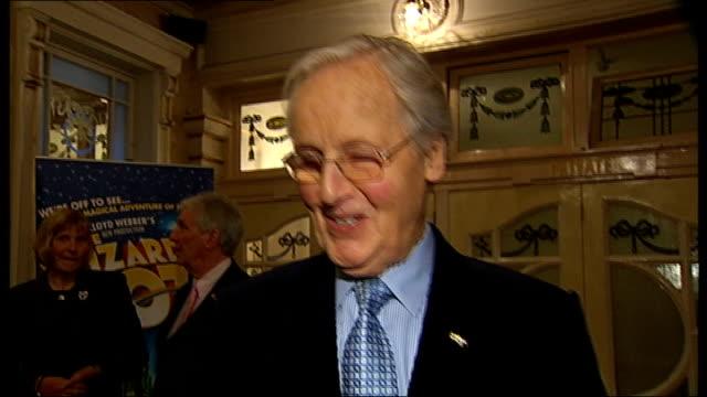 London Palladium celebrates 100th birthday celebrity interviews Neil Sedaka interview SOT Andrew LloydWebber asked me to come today / I have...