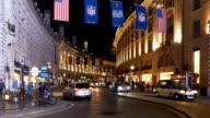 T/L London Regent Street At Night