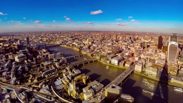 London skyline seen from the Shard.