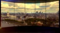 Skyline von London-Wand.  HD -