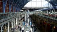 SLO MO London St Pancras Railway Station