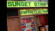 1976 - London strip club