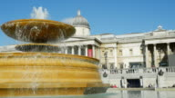 London Trafalgar Square Fountain (UHD)