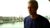 London Triathlon 2011 Royal Victoria Dock ExCeL Exhibition Centre Mark Foster interview SOT