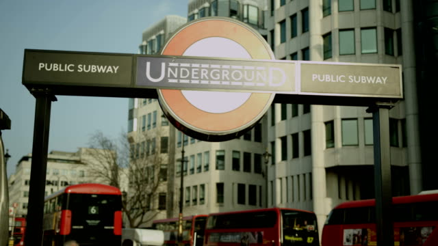 London Underground sign outside Charing Cross station