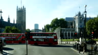 POV di Londra Victoria Tower e l'Abbazia di Westminster (4 k Ultra HD/HD)
