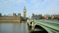 London Westminster Bridge And Big Ben (HD)