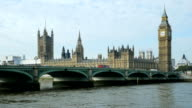 London Westminster Bridge And Big Ben (4K/UHD to HD)