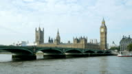 PAN London Westminster Bridge And Big Ben (4K/UHD to HD)