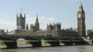 T/L London Westminster Bridge And Big Ben (4K/UHD)