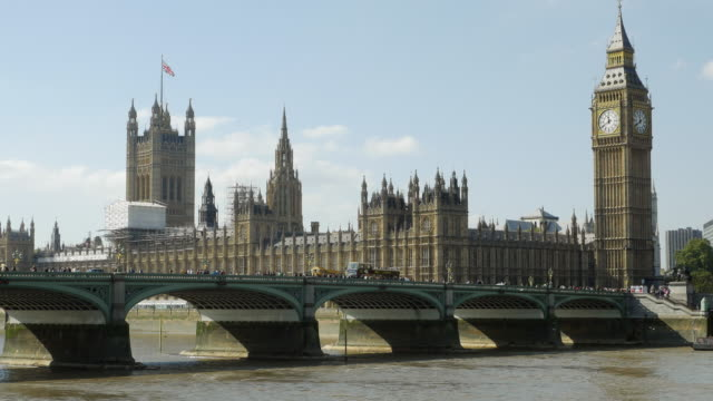 T/L London Westminster Bridge And Big Ben (4K/UHD)