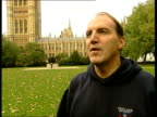 London Westminster Simon Hughes MP interview SOT Talks of request for deployment of British troops coming close to the US Presidential election CMS...