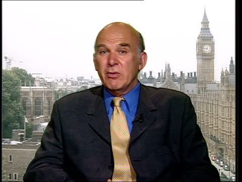 London Westminster INT Vince Cable MP interviewed SOT Ombudsman is preventing any future recourse to compensation even if Penrose finds negligence /...