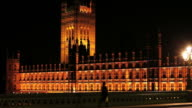 London Westminster Palace At Night