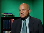 Westminster Roger Lyons interview SOT Talks of need for new strategy for Marconi