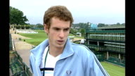 London Wimbledon All England Club Andy Murray interview SOT Not expecting to do so well