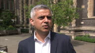London's new mayor has criticised his rivals for conducting a 'negative divisive and desperate' campaign against him Sadiq Khan was sworn in at a...