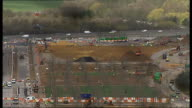 London's Olympic Park to hold live music events ENGLAND London Stratford Olympic Park EXT Construction work underway on the part of the Olympic Park...