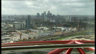 London's Olympic Park to hold live music events London INT Dennis Hone interview SOT Olympic Park EXT Various views over the Olympic Park from the...
